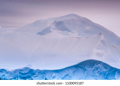 Antartic landscape, south pole