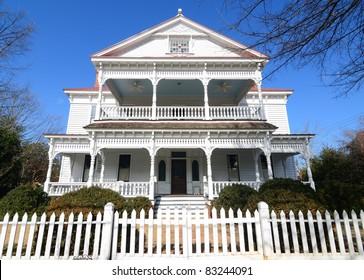 Antebellum house exterior