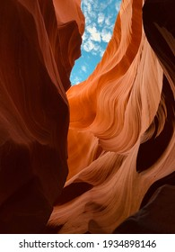 Antelope canyon in Arizona, USA.