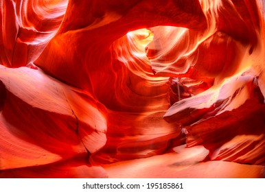 Antelope Canyon is the most photographed slot canyon in the American Southwest. It is located on Navajo land near Page, Arizona.