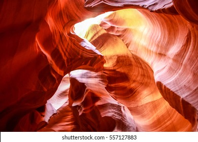 Antelope Canyon - Rocks - Summer - Day