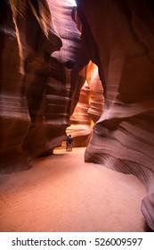 Antelope Canyon, Upper Antelope Canyon, Arizona, USA
