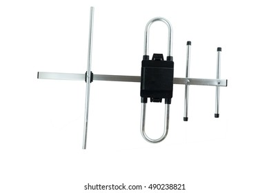 Antenna icon. Television antenna. TV antenna. Aerial icon. Antenna icon set. Antenna raster isolated on a white background