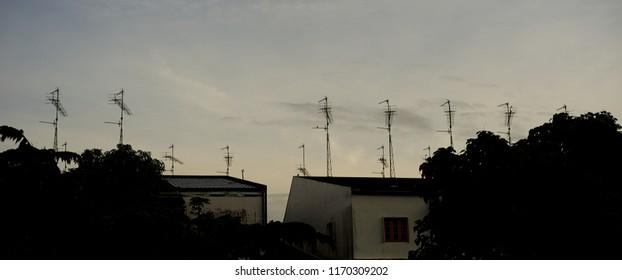Antennas Buildings Images, Stock Photos & Vectors | Shutterstock