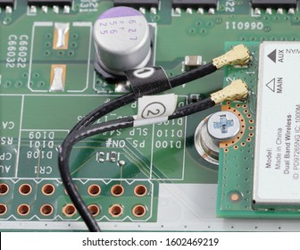 antenna wiring on Mini pci wireless network adapter, wireless Mini PCI Express Card. pci computer card