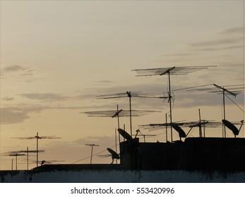Antennas in the twilight