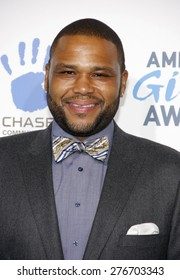 Anthony Anderson at the 2012 American Giving Awards held at the Pasadena Civic Auditorium in Pasadena on December 7, 2012.