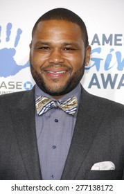 Anthony Anderson at the 2012 American Giving Awards held at the Pasadena Civic Auditorium in Pasadena on Decmber 7, 2012.