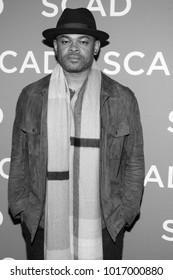 Anthony Hemingway attended the 6th annual SCAD aTV Fest 2018 in Atlanta, Georgia - USA at the Four Season Hotel Atlanta on February 2nd, 2018