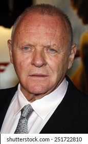"""Anthony Hopkins attends the Los Angeles Premiere of """"Beowulf"""" held at the Westwood Village Theater in Westwood, California, United States on November 5, 2007."""