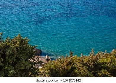 Anthony Quinn beach panorama