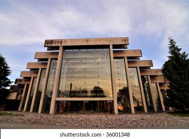Anthropology Museum in University of British Columbia Campus
