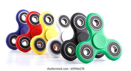 Anti stress and relaxation fidgets spinner for exhausted people
