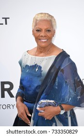 ANTIBES, FR - May 25, 2017: Dionne Warwick at the 24th amfAR Gala Cannes at the Hotel du Cap-Eden-Roc, Antibes