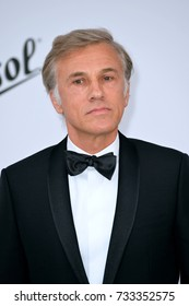 ANTIBES, FR - May 25, 2017: Christoph Waltz at the 24th amfAR Gala Cannes at the Hotel du Cap-Eden-Roc, Antibes