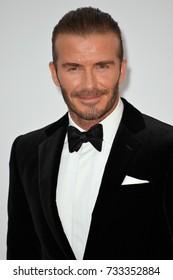 ANTIBES, FR - May 25, 2017: David Beckham at the 24th amfAR Gala Cannes at the Hotel du Cap-Eden-Roc, Antibes