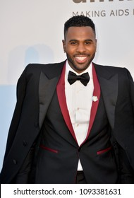 ANTIBES, FRANCE. May 17, 2018: Jason Derulo at the 25th amfAR Gala Cannes event at the Hotel du Cap, Antibes. Part of the 71st Festival de Cannes