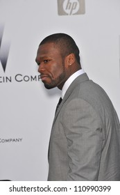 "ANTIBES, FRANCE - MAY 21, 2009: Curtis ""50 Cent"" Jackson at amfAR's Cinema Against AIDS Gala at the Hotel du Cap d'Antibes. May 21, 2009  Antibes, France"