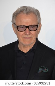 ANTIBES, FRANCE - MAY 21, 2015: Harvey Keitel at the 2015 amfAR Cinema Against AIDS gala at the Hotel du Cap d'Antibes, as part of the 68th Festival de Cannes.