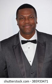 ANTIBES, FRANCE - MAY 21, 2015: Chris Tucker at the 2015 amfAR Cinema Against AIDS gala at the Hotel du Cap d'Antibes, as part of the 68th Festival de Cannes.