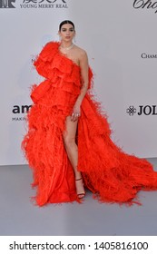 ANTIBES, FRANCE. May 23, 2019: Dua Lipa at amfAR's Gala Cannes event at the Hotel du Cap d'Antibes.Picture: Paul Smith / Featureflash