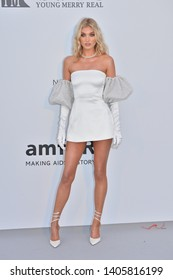 ANTIBES, FRANCE. May 23, 2019: Elsa Hosk at amfAR's Gala Cannes event at the Hotel du Cap d'Antibes.