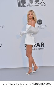 ANTIBES, FRANCE. May 23, 2019: Elsa Hosk at amfAR's Gala Cannes event at the Hotel du Cap d'Antibes.Picture: Paul Smith / Featureflash