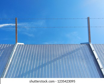 Anti-climb fencing made from galvanized iron install at the perimeter or boundary of property to prevent from intruder.