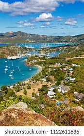 Antigua Yacht Club from Above