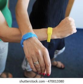 Anti-insect bracelet