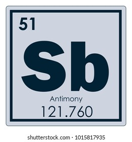 Periodic table element chromium stock vector 467238728 shutterstock antimony chemical element periodic table science symbol urtaz Gallery