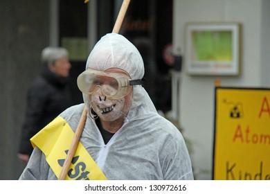 antinuclear demo