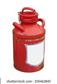 antique 5 gallon gasoline can