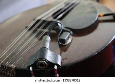 Antique 8 Stringed Mandolin Pickup Stock Photo (Edit Now