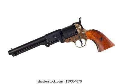 Antique american Navy percussion revolver.