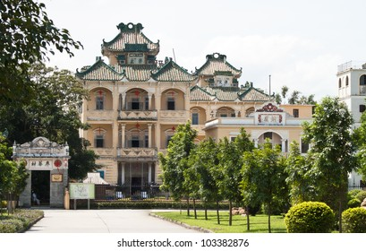 "The antique architectures of Kaiping Diaolou ""WatchTower"" the world heritage 2007 in Kaiping town, Guangdong province, China"