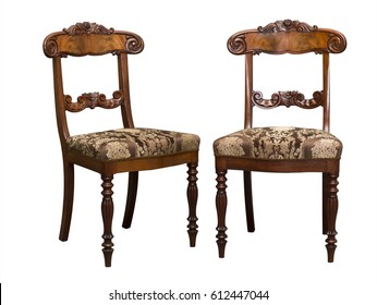 Antique Biedermeier chair isolated on white with authentic fabric and wood carving  sc 1 st  Shutterstock & Antique Chair Images Stock Photos u0026 Vectors | Shutterstock