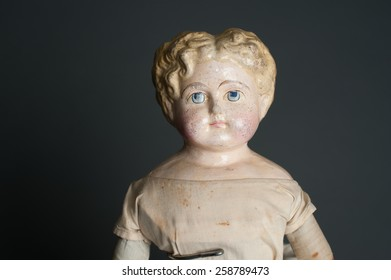 Antique Bisque Doll Face