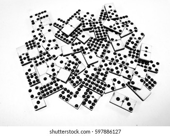 Antique Bone and Ivory Dominoes