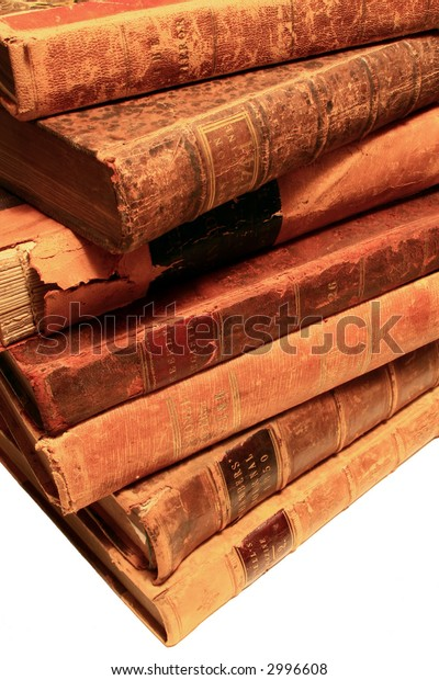 Antique Books with Character.