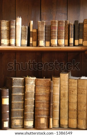 Antique Bookshelf Stock Photo Edit Now 1386549