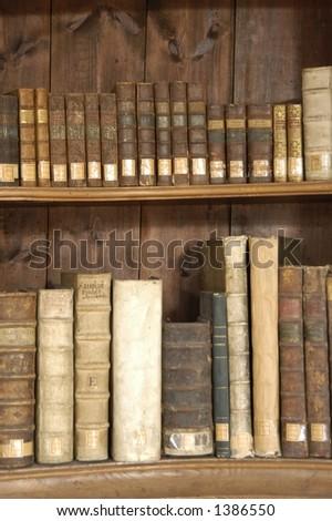 Antique Bookshelf Stock Photo Edit Now 1386550