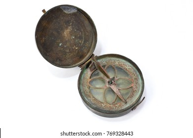 Antique Brass Astrolabe