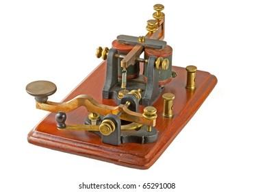 "Antique ""Camelback"" Morse Key"
