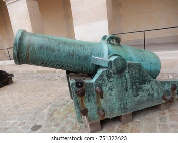 Antique Cannons on Display