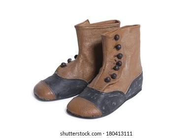 antique children's boots