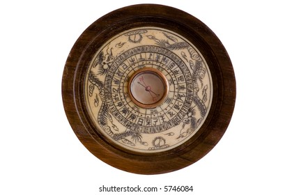 Antique Chinese Compass