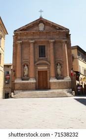 Antique church in Siena