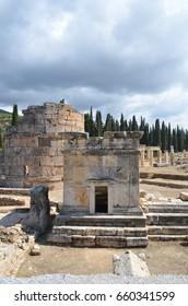 Antique city ruins