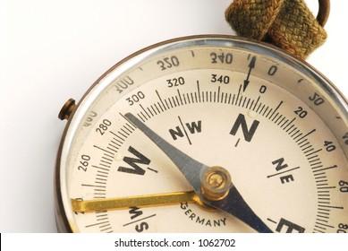 antique compass face 3